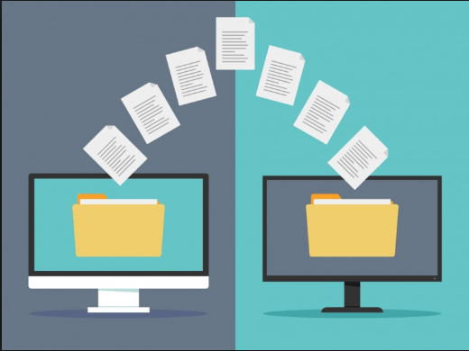 How to transfer files between two computers