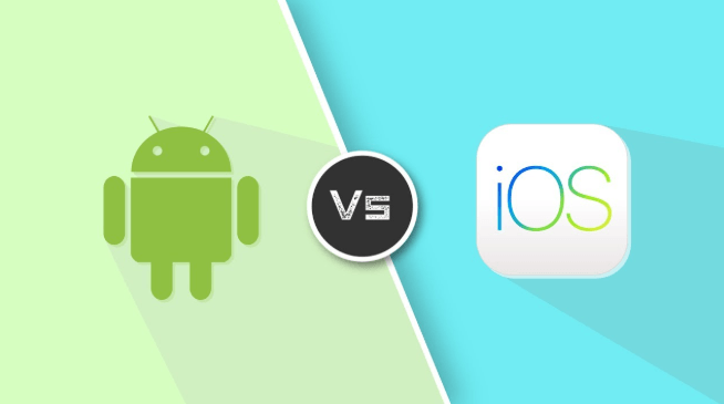 ANDROID V/S IOS