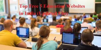 Top Free 5 Education Websites in India (Updated List)
