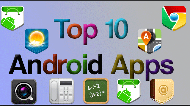 Top Google popular Apps For Android-min